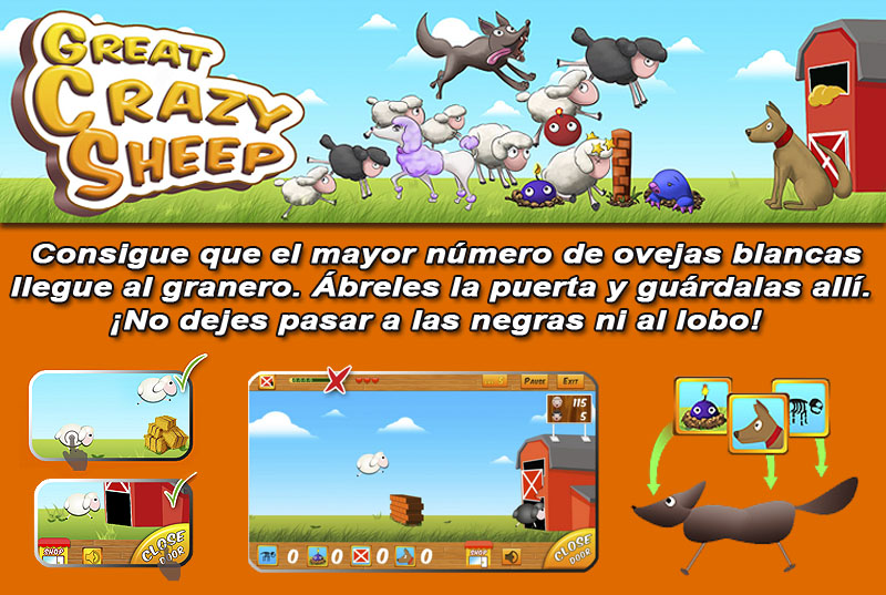 APP Great Crazy Sheep